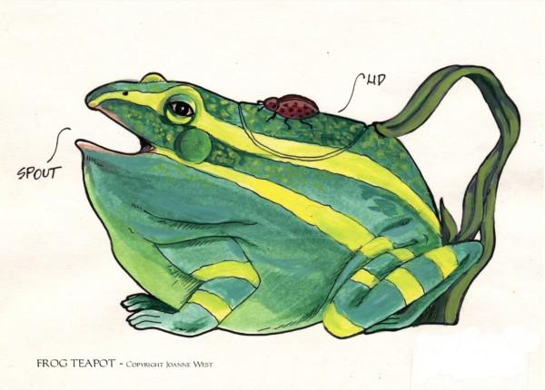 Frog Teapot My Blog